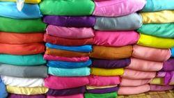 Japan Satin Plain Dyed Fabric, 75-80