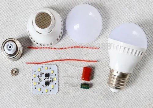 Led Bulb Raw Material Plastic Series एलईडी बल्ब का