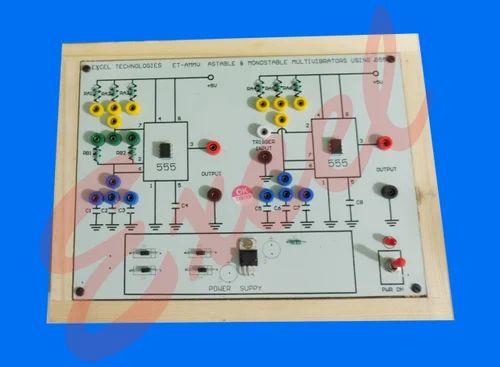 Astable And Monostable Multivibrators Using IC555, शैक्षिक ...