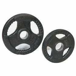 Round Black Weight Plate, Weight: 2.5 Kg