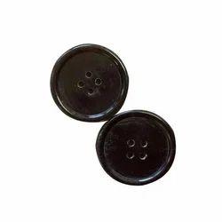 Buffalo Horn Bone Button