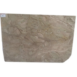 Beige Polished Finish Breccia Oniciata Italian Marble, Slab, Thickness: 16 mm