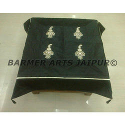 Designer Silk Embroidery Table Cover