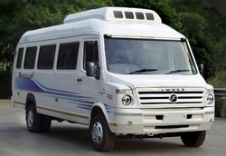 Online Booking For 26 Seater Traveler