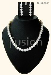 Cubic Zircon Designer Necklace Set