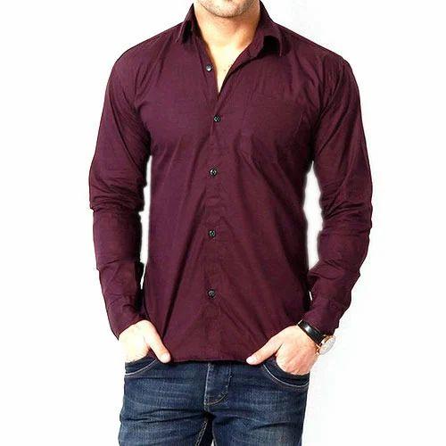 men plain shirt at rs 265 piece gents shirts mens shirts