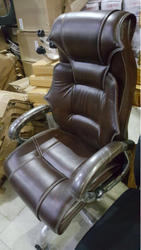 Leather Brown Boss Chair