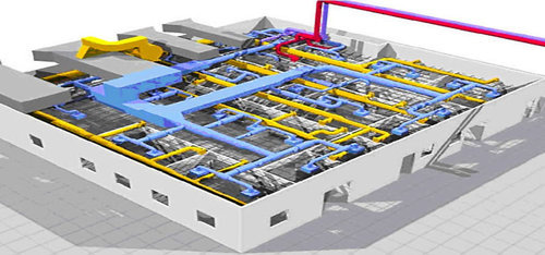 hvac fabrication drawing - cad outsourcing