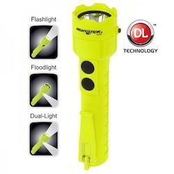 Intrinsically Safe Permissible Dual-Light Flashlight