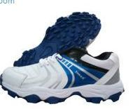 83c6d4c6df56 Cricket shoes - Thrax Revo Cricket Shoes White And Blue Wholesale ...