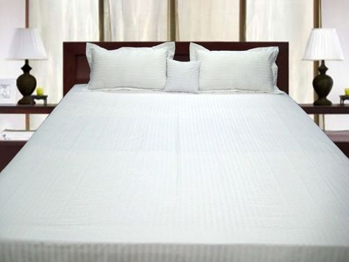 Pure White Bed Sheets