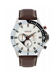 Fastrack Leather Chronograph