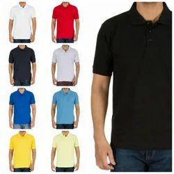 Random Regular Cotton Collar T Shirt