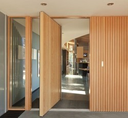 Modular Wooden Partition