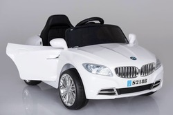 White Bmw Je 12v Battery Operated Car