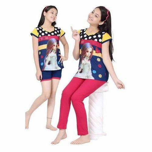 Girls Night Dress at Rs 320  piece(s)  62e0e7a50