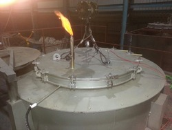 Pit Type Reduction Furnace with Hydrogen Atmosphere