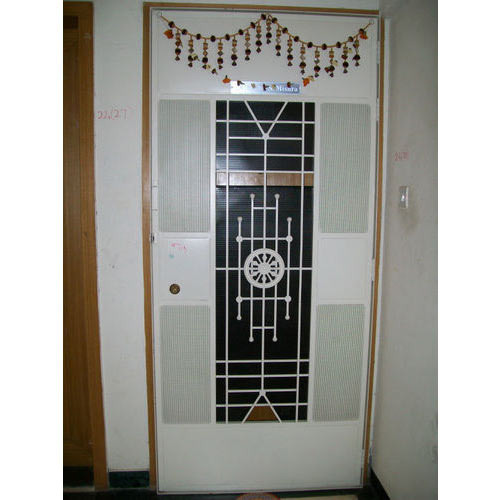 Iron Safety Door At Rs 10000 Piece Safety Door Id 13634641248