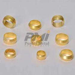 Golden Brass Sleeves