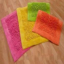 Cotton Chenille Bath Mats