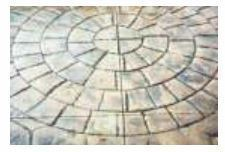 Circular Granite Concrete Color