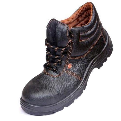 Zain Safety Shoes, Steel Toe, PU-Single
