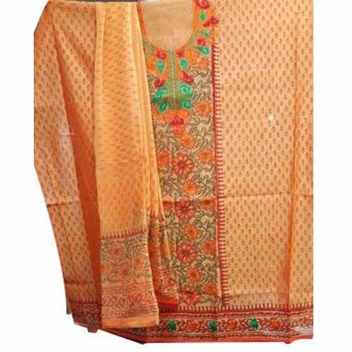 4d4084978e Party Wear Ladies Cotton Unstitched Suit, Rs 200 /piece, Amit ...