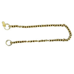 Brass Normal Chock Pet Chain