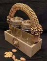 Rectangular Dry Fruit Gift Basket