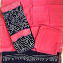 Regular Wear Bandhani Suit Dress Material