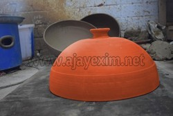 Clay Pizza Oven Dome