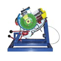 Two Stroke Single Cylinder Engine Test Rig