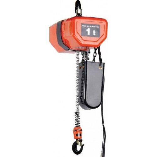 Electric Chain Hoist With Hook: Hook & Motorized Trolley Type