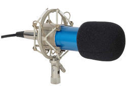 Rianz All New Bm-800 Sound Studio Recording Dynamic Professional Condenser Microphone Set (blue)
