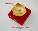 Bowl Golden & Silver Tikoni 5