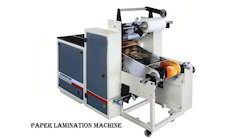Paper Lamination & Silver Plate Machine
