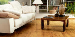 Natural Solid Wood Flooring, Finish Type: Matte, Thickness: 8mm
