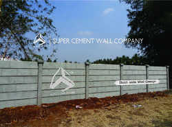 Folding Concrete Wall Compound