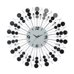 Decor White Metal Wall Clock