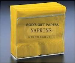 Yellow Color Paper Napkins