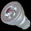 RGB MR-16 Spot Lamp 1x3W