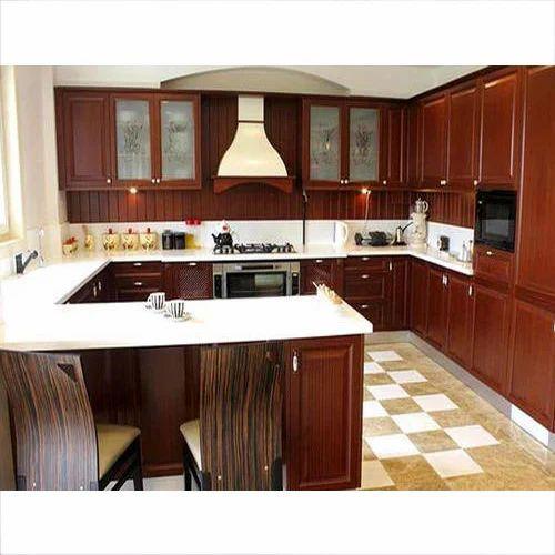 L Wooden Modular Kitchen Manufacturer: Modular Kitchen And Wooden Furniture Manufacturer