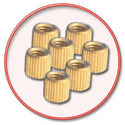 Brass Insert for Plastic Junction Box