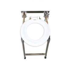 Wall Mounted Indian Conversion SS Commode