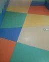 Colourful Vinyl Roll Flooring, Size: 2 X 20 M