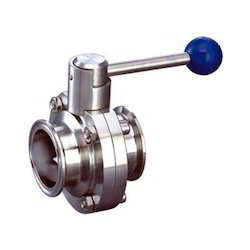 SS TC End Butterfly Valve