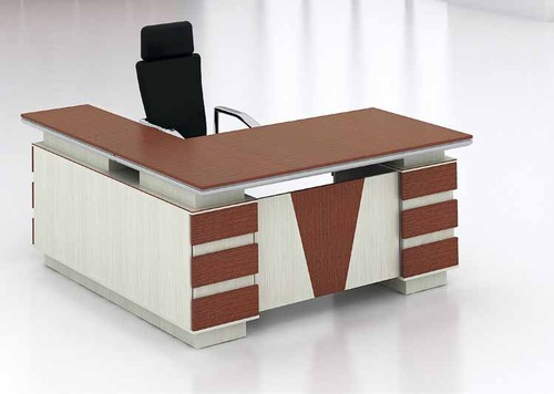 Office Table Design Wooden Office Table Carpentry Work In Sahibagh Road Ahmedabad .