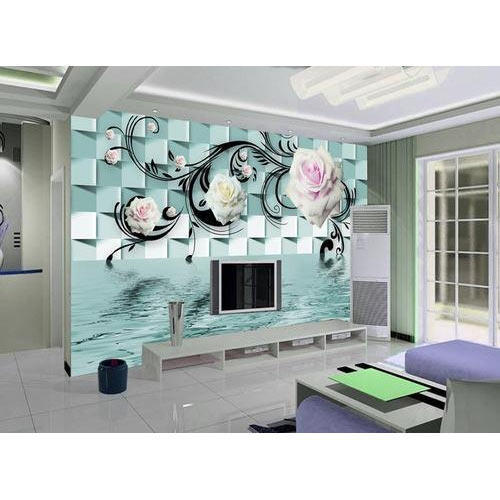 Tv Background 3d Wallpaper At Rs 120 Sq Feet 3d Wallpaper Id