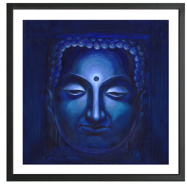 Enlightened Buddha Framed Print at Rs 1500 /piece | Framed Prints ...