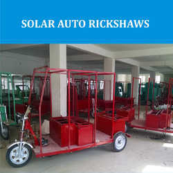 Solar Auto Rickshaws